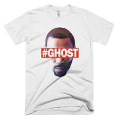 """Free Ghost"" Men's White T-Shirt by Luke&Lynn Clothing (inspired by the STARZ Series, Power)"