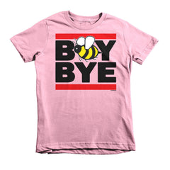 """Boy Bye"" Bee Kids Pink (Unisex) T-Shirt by Luke&Lynn Clothing (inspired by Beyonce)"