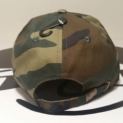 Stephanie - vs - Headphanie Camouflage/Orange Dad Hats by Luke&Lynn Clothing