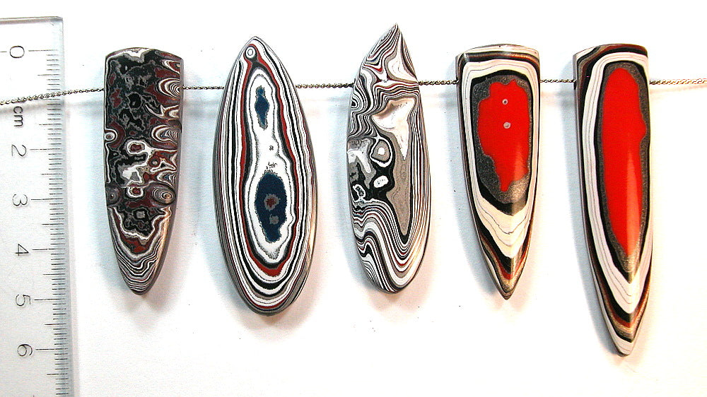 New Fordite Focal Beads ON SALE!  20% OFF through CYBER Monday!
