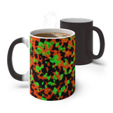 Magic Mug Fluorescent Calcite Willemite Print Color Changing! Franklin, New Jersey Rocks! - DVHdesigns