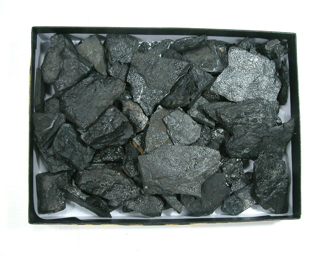 DVH Half Pound Gift Box Lignite Coal Tennessee Carbon Crystals for Christmas - DVHdesigns