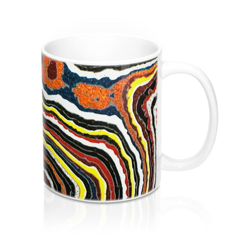 Corvette Fordite Car Paint Print Mug 11oz - DVHdesigns