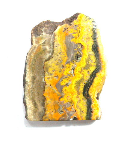 "DVH BumbleBee ""Jasper"" Calcite Polished Display Slab 84x65x6 (2932)"