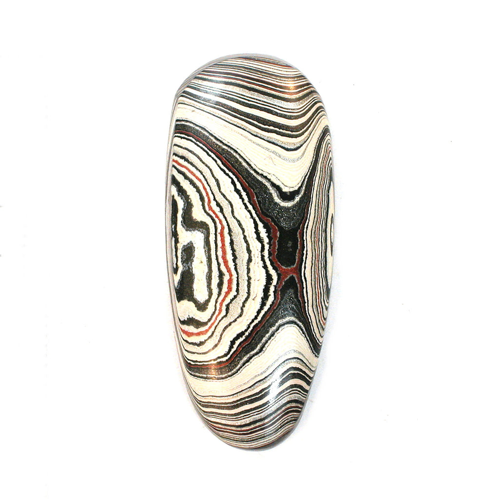 DVH Fordite Ford Truck Paint Freeform Cabochon 39x17x5mm (1490) - DVHdesigns