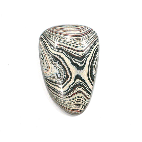 DVH Fordite Ford Paint Freeform Cabochon 28x18x5mm (FR2047) - DVHdesigns
