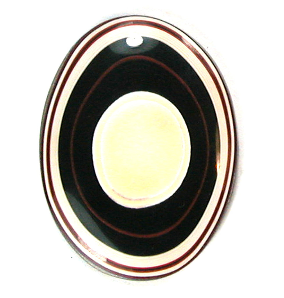 DVH Fordite 30x40mm Standard Oval Cabochon (9619)