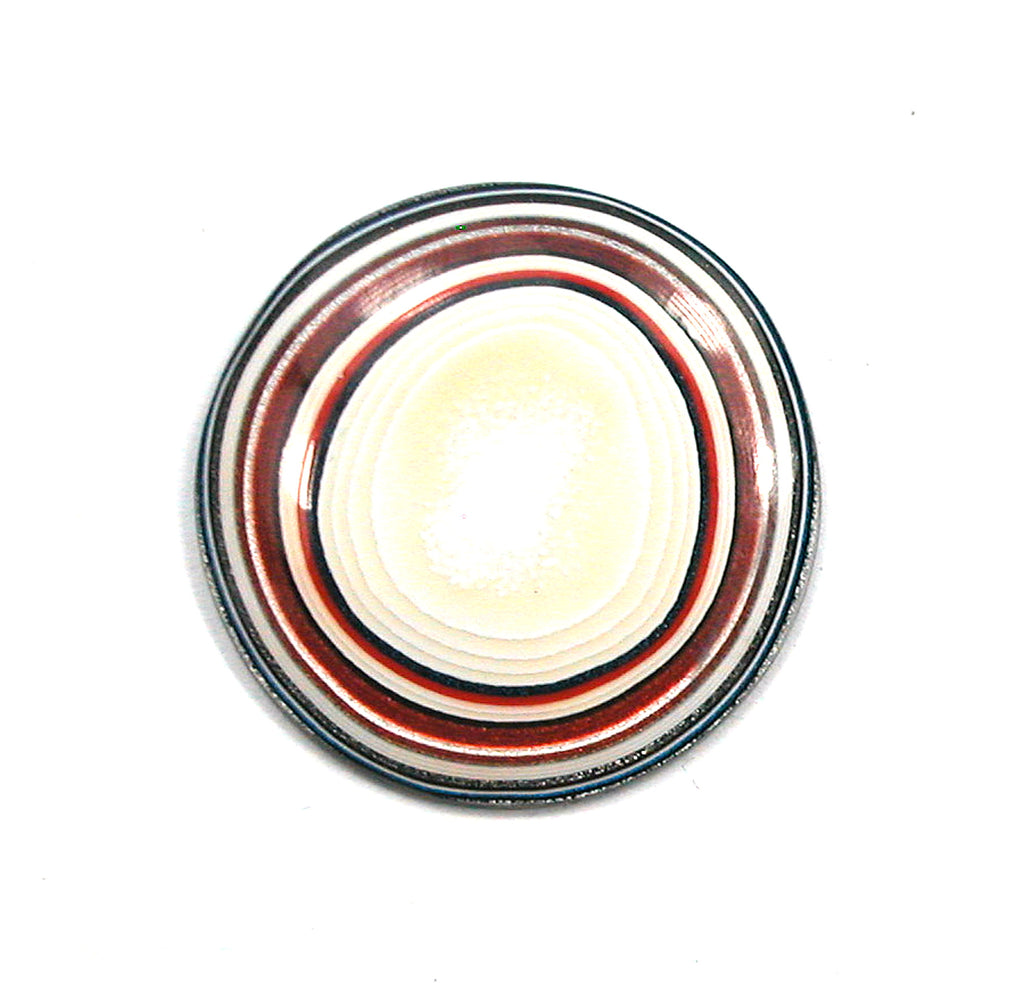 DVH Fordite Ford Truck Paint Freeform Cabochon 27mm Round (2884)