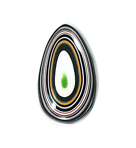 DVH Jeep Fordite Cabochon Recycled Car Paint Cab 42x24x5 (2527) - DVHdesigns