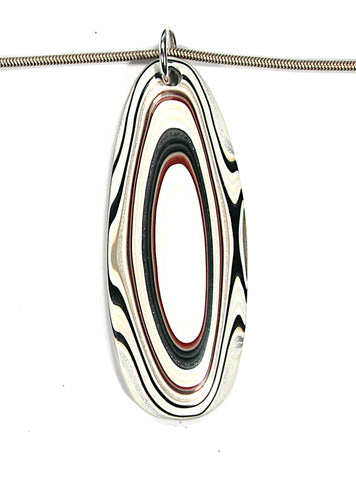 DVH Ford Truck Fordite Pendant Necklace Recycled Paint Kentucky 65x25x6 (3315)