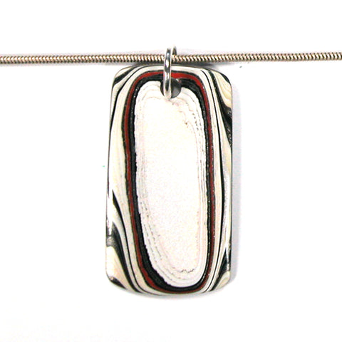 DVH Ford Truck Fordite Pendant Necklace Recycled Paint Kentucky 43x23x3 (3319)