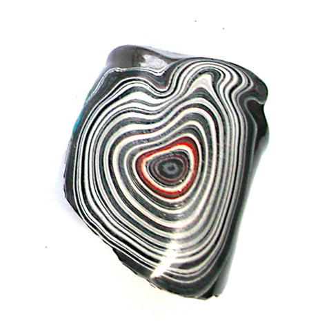 DVH Ford Truck Fordite Specimen Polished Face Rough Kansas City Assembly (3351)