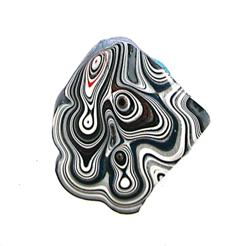 DVH Ford Truck Fordite Specimen Polished Face Rough Kansas City Assembly (3624)