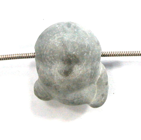 DVH Fairy Stone Concretion Bead Pendant Goddess Rock Quebec 28x21x13 (2944)