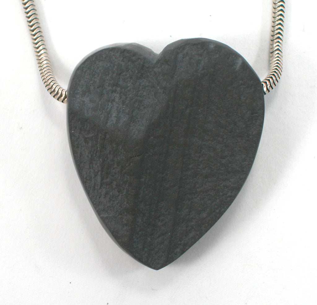DVH Natural Surface Slate Broken Heart Bead Matte Finish 35x30x14 (2642) - DVHdesigns