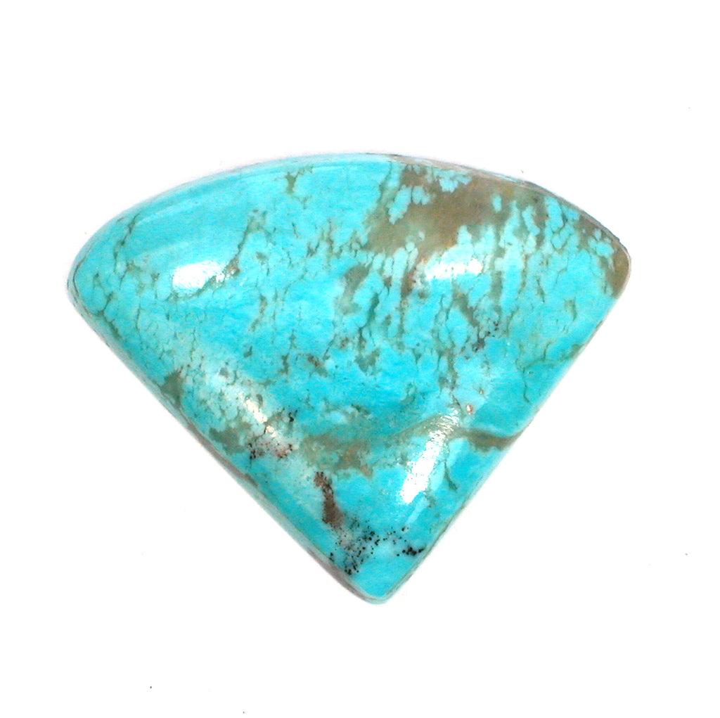 DVH 19 ct. Kingman Arizona Turquoise Freeform Cabochon 24x30x5mm (1585) - DVHdesigns