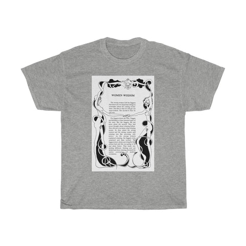 Classic Women Wisdom from Fa@@ots and their Friends Between Revolutions Unisex Heavy Cotton Tee