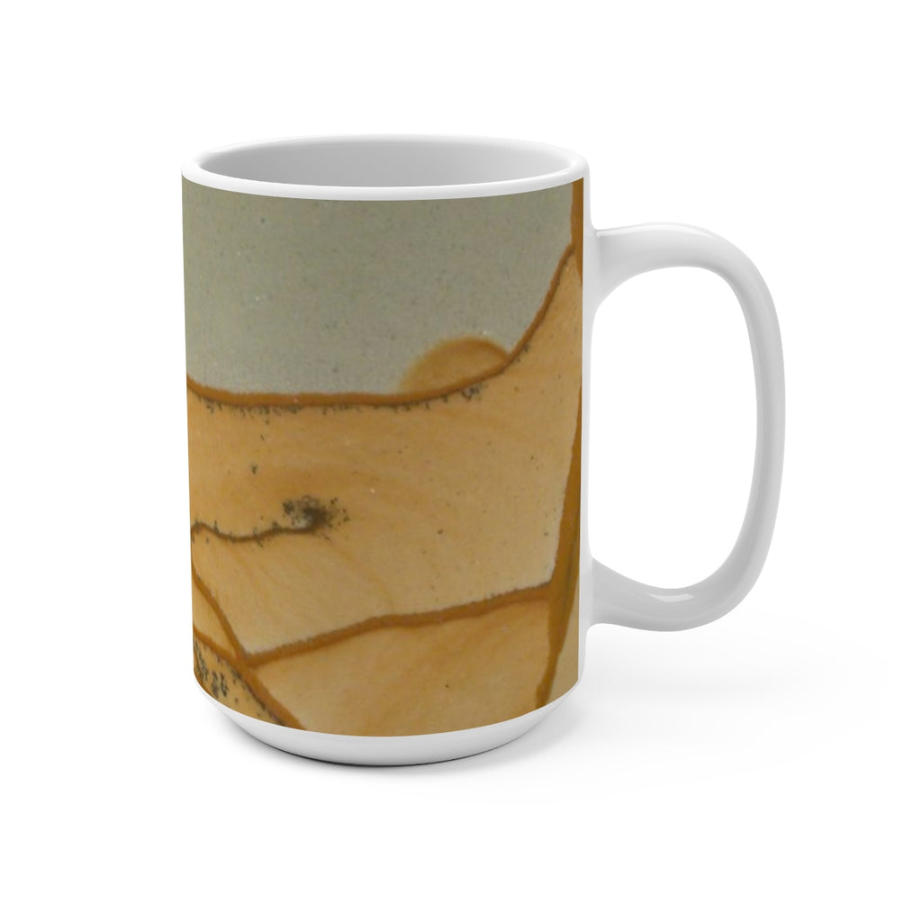Oregon Wildhorse Picture Jasper Print Mug 15oz - DVHdesigns