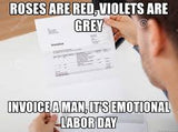 Compensation for EMOTIONAL LABOR & EMOTION WORK.  Enjoy these memes.... - DVHdesigns