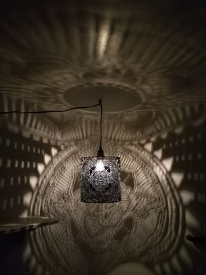 Mandala Shadow Lamps