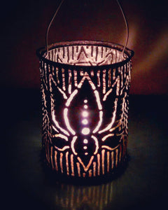 Lotus Luminary Candle Holder