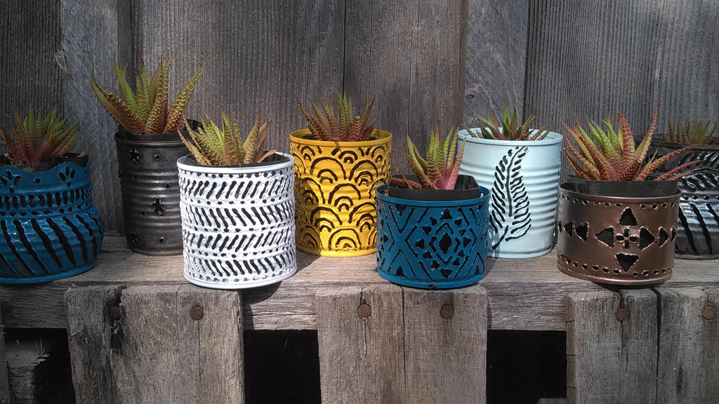 10 Tiny Plant Pots Wedding Favors Decor