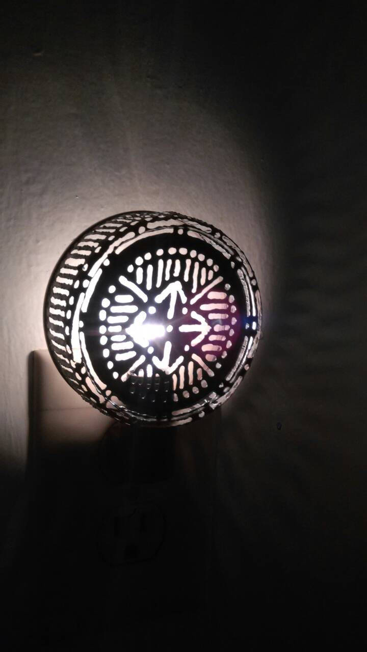 Mandala Nightlight