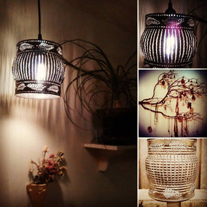 Floating Feather Shadow Lamp Pendant
