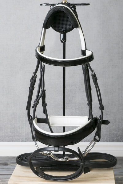 Amerigo White Padded Bridle