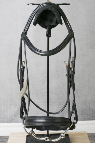 Jeffries Elevator Snaffle Bridle with Crank