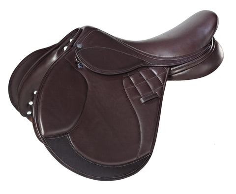 Frank Baines 'Eternity' Jump Saddle - Brown