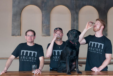 Arches Brewing Founders with Creative Loafing Atlanta