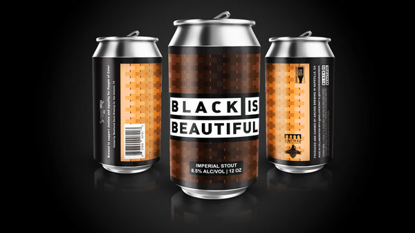 Black is Beautiful - American Imperial Stout - 12oz 6pk