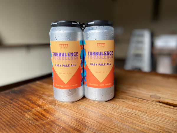 Turbulence - Hazy Pale Ale - 16oz 4PK