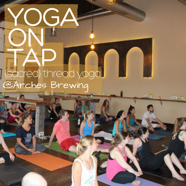Yoga on Tap! - January