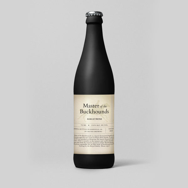 Master of the Buckhounds - Barleywine - 750 ML To-Go Only