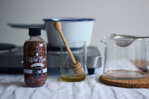 Organic Vanilla Spiced Chai Stove Top Brew Method