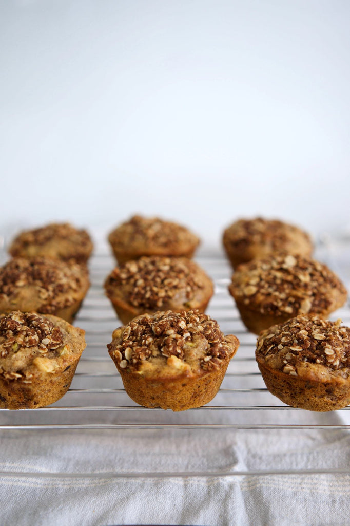 Chai Spiced Apple Muffins