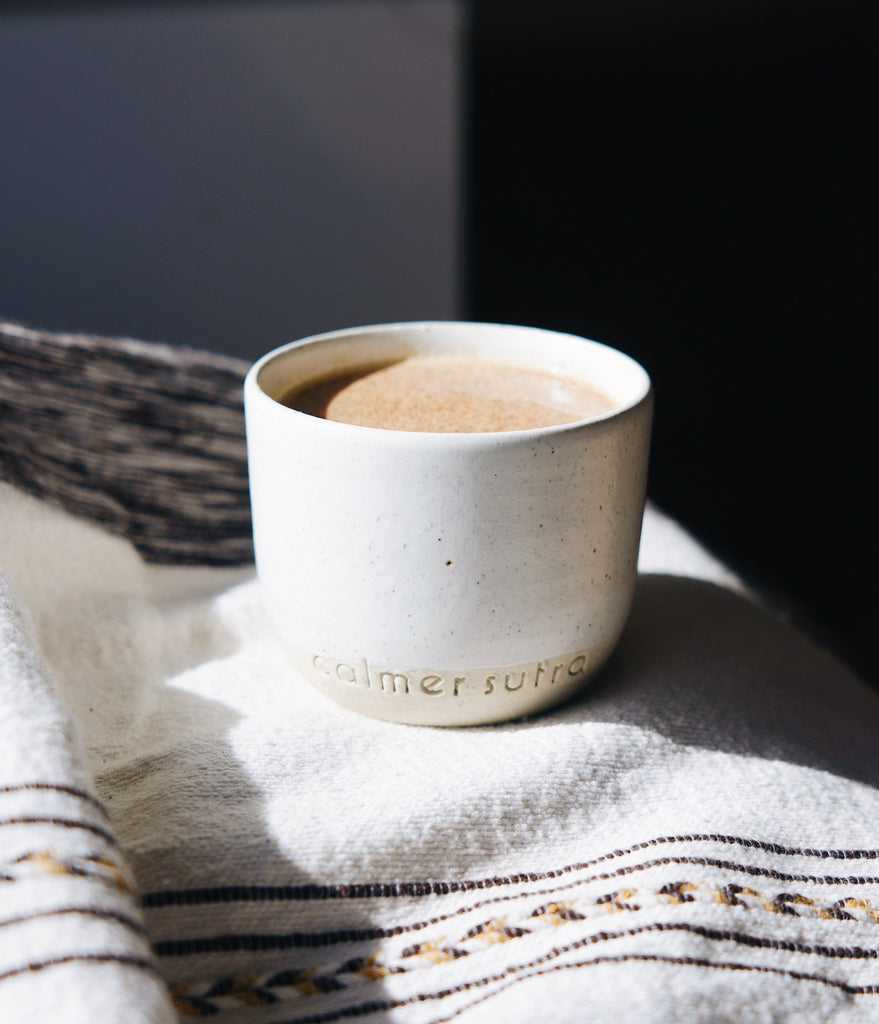 Calmer Sutra x State of Permanence Ceramic Cups