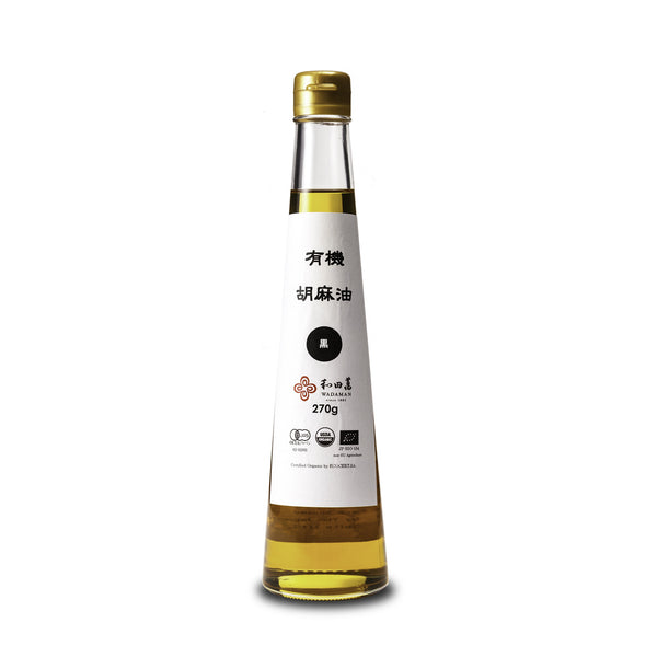 Black Sesame Oil, Organic - 300ml
