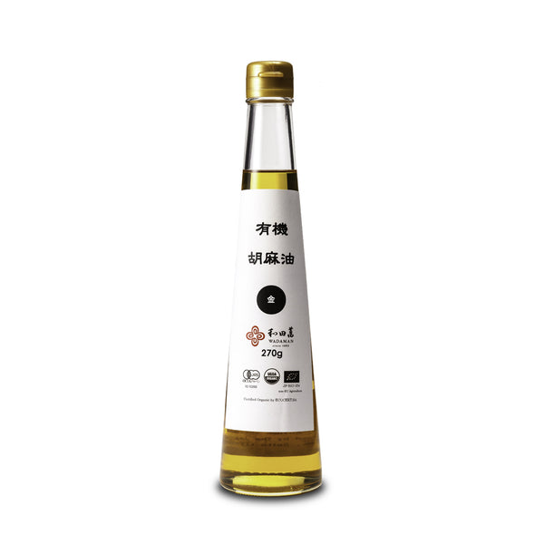 Organic Golden Sesame Oil