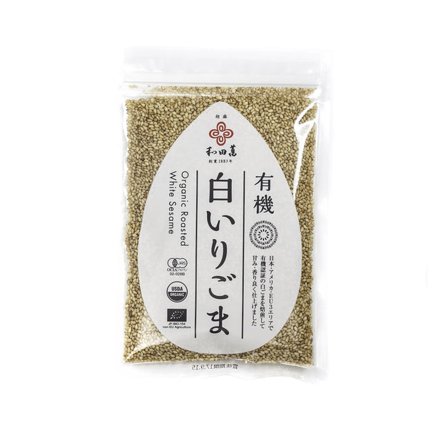 Roasted White Sesame Seeds, Organic - 50g