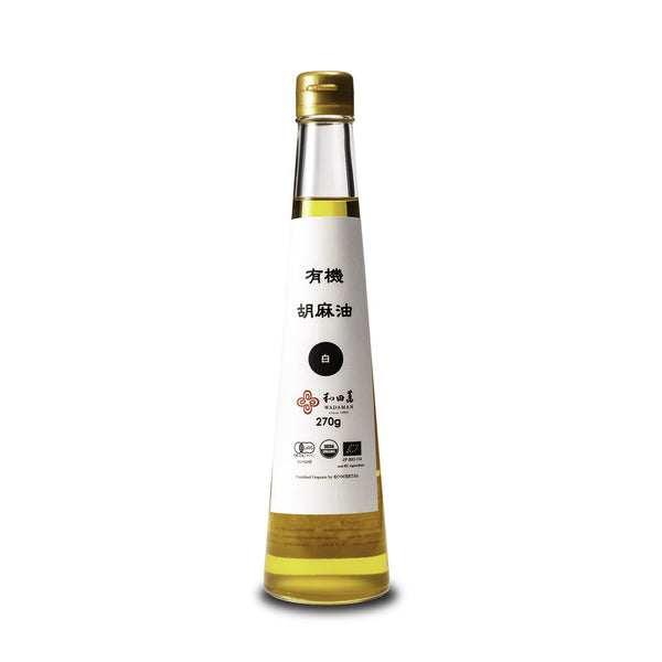 White Sesame Oil, Organic - 300ml