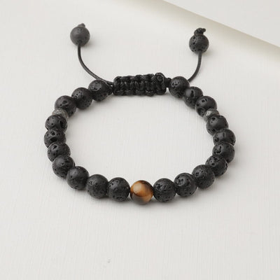 Kids Tiger's Eye Diffuser Bracelet