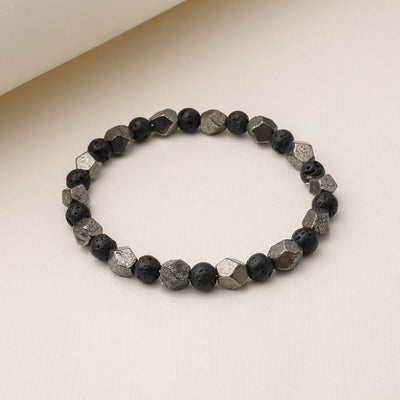 Lucky Pyrite Diffuser Bracelet