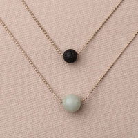 Pure Diffuser Necklace - Amazonite