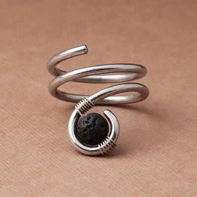 Sacred Spiral Diffuser Ring