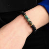 African Turquoise Diffuser Bracelet
