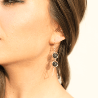 Triangle Diffuser Earrings
