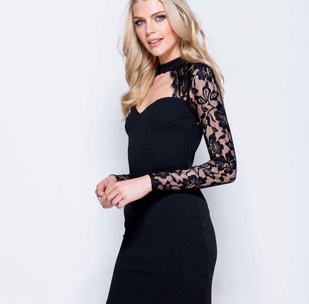 Steal the Show Black Dress
